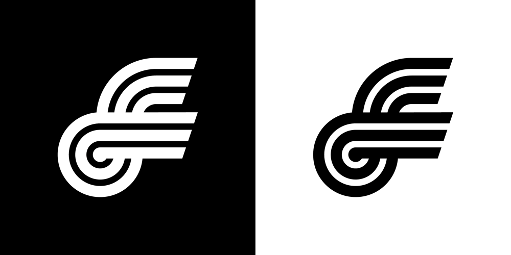 F lettermark  - image 1 - student project