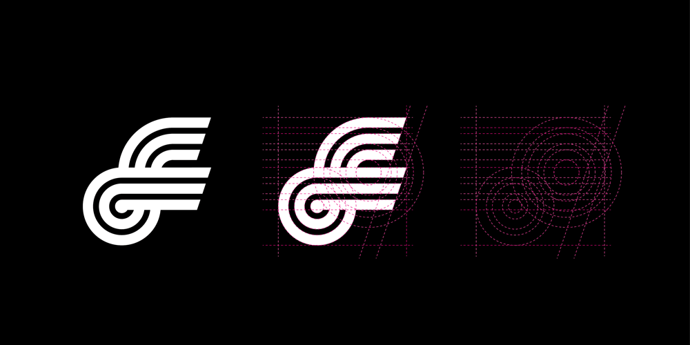 F lettermark  - image 3 - student project