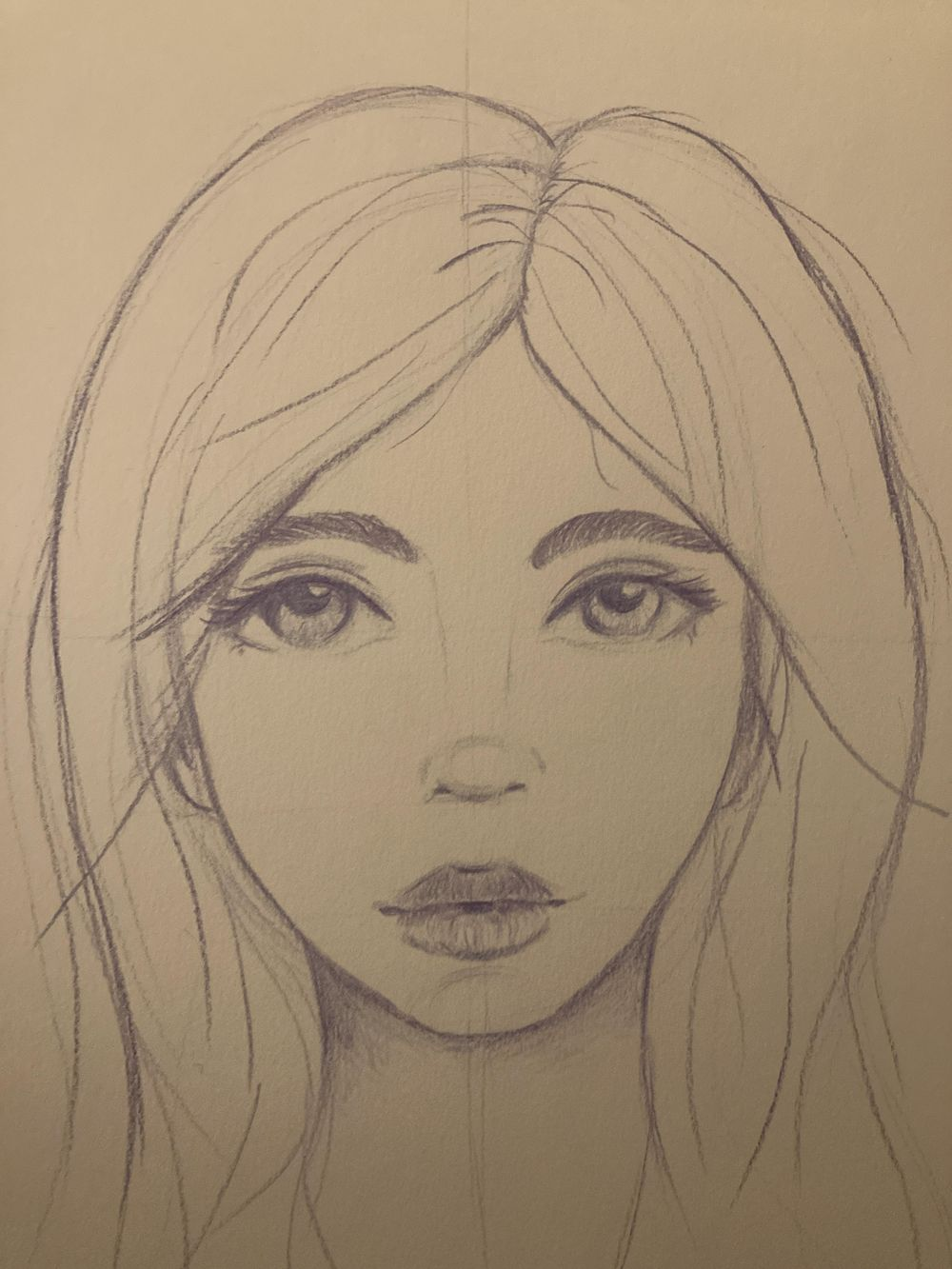 Whimsical face - image 1 - student project