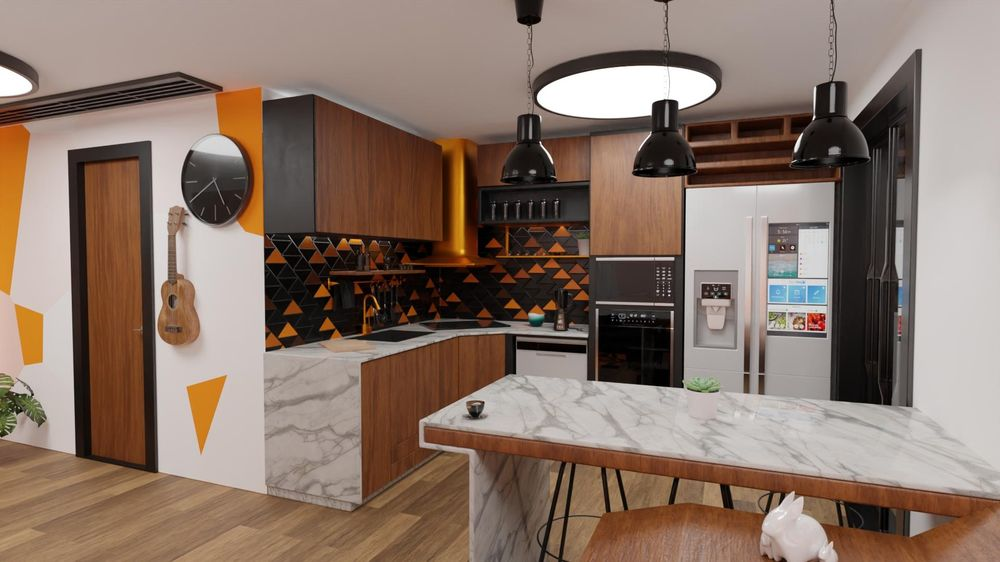 apartments interior design - image 8 - student project