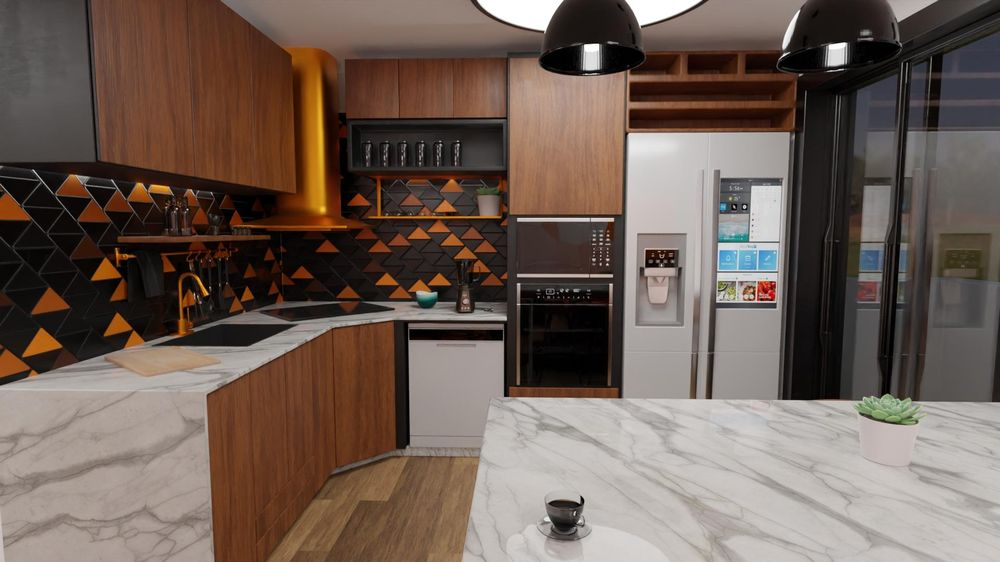 apartments interior design - image 7 - student project