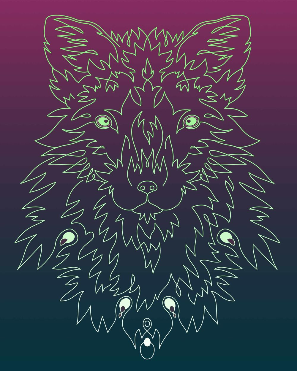 Linear Fox - image 1 - student project