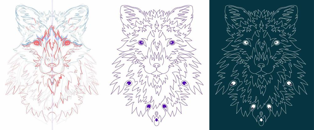 Linear Fox - image 2 - student project
