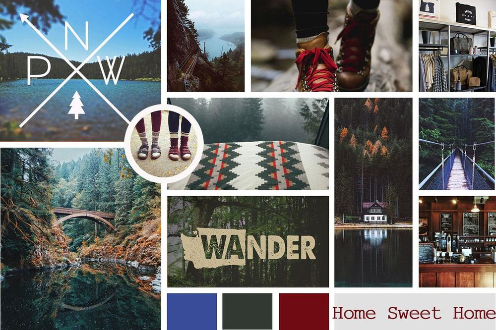 PNW Mood Board - image 1 - student project