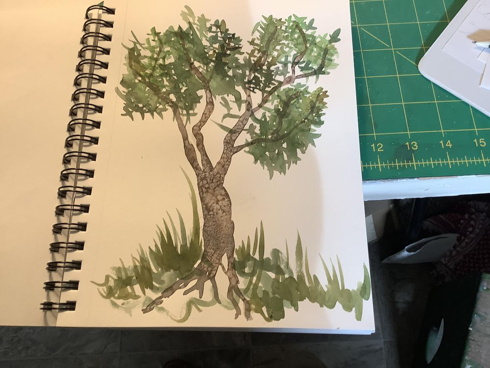 My first tree - image 1 - student project