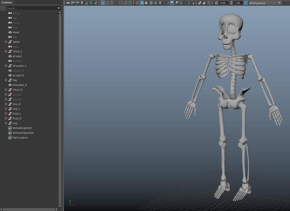 Skeleton Guy - image 5 - student project