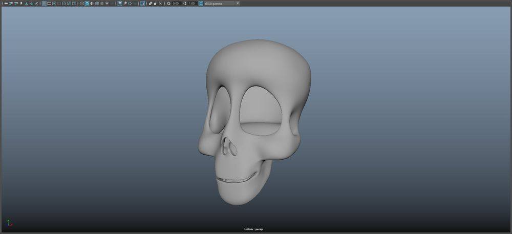 Skeleton Guy - image 2 - student project