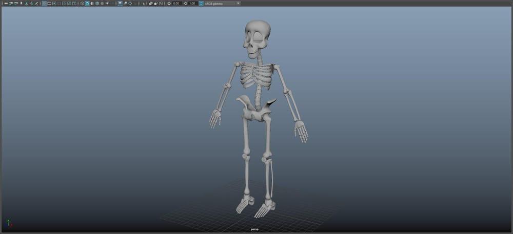 Skeleton Guy - image 1 - student project