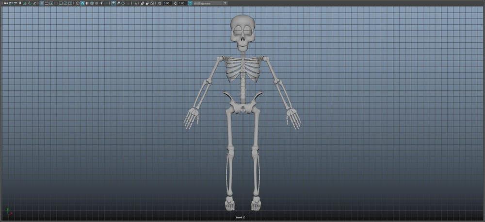 Skeleton Guy - image 6 - student project