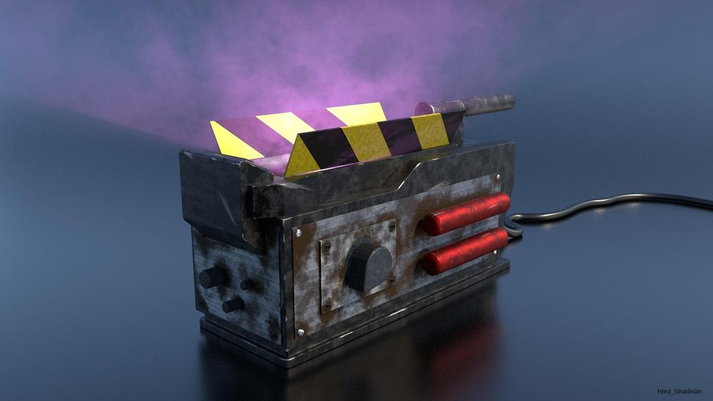 Ghostbuster Trap_Look Development - image 2 - student project