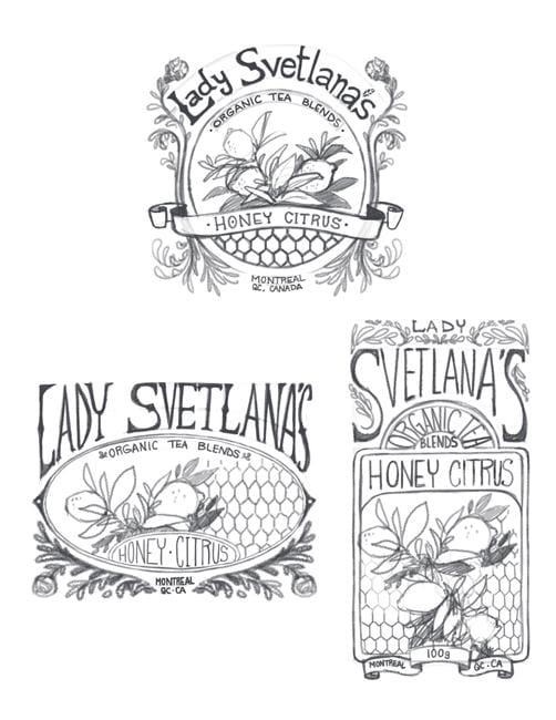 Lady Svetlana's Herbal Tea - image 3 - student project