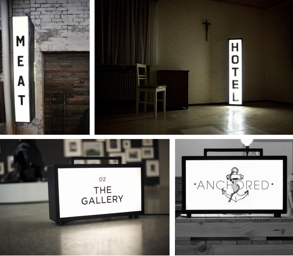 Shed Lightboxes  - image 1 - student project