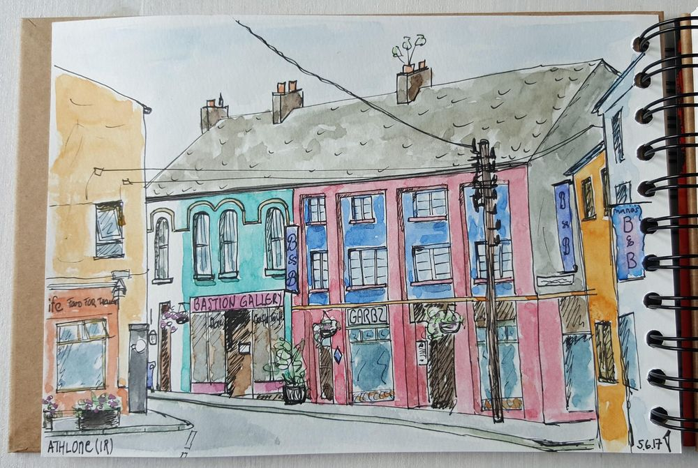 Sketching Athlone (Ireland) - image 3 - student project