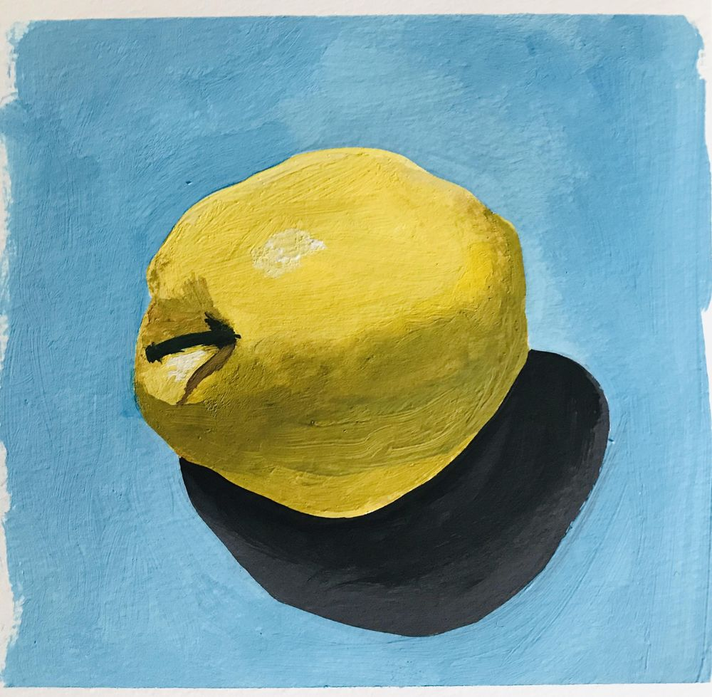 Apfel in Gouache - image 1 - student project