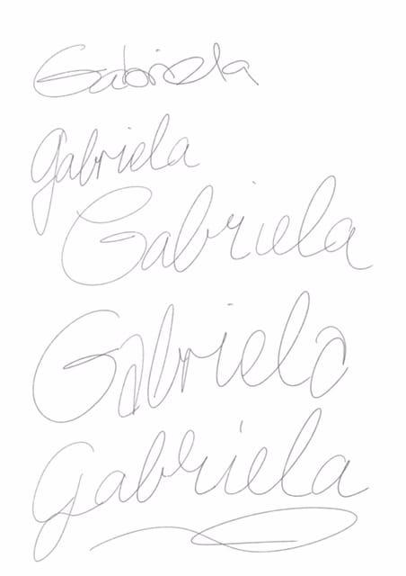 Gabriela - image 1 - student project