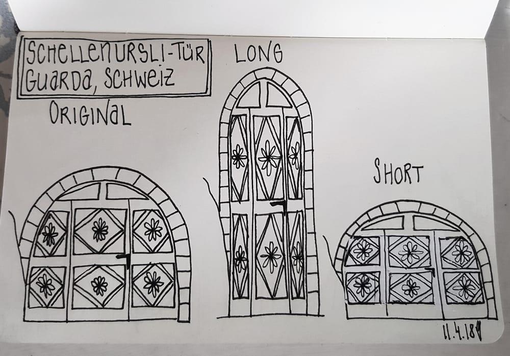 Schellenursli-Door Guarda, Switzerland - image 1 - student project