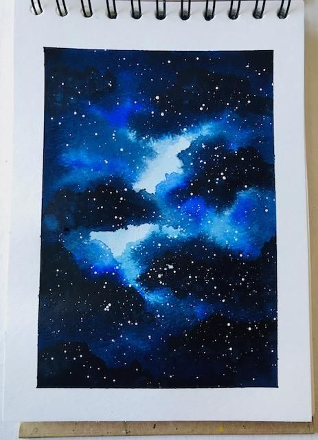 Blaue Galaxie - image 1 - student project