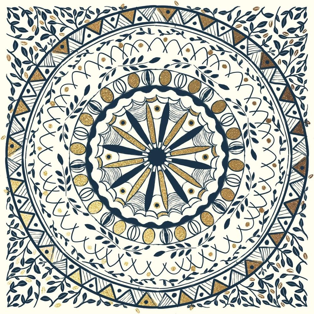 Mandala tiles - image 3 - student project