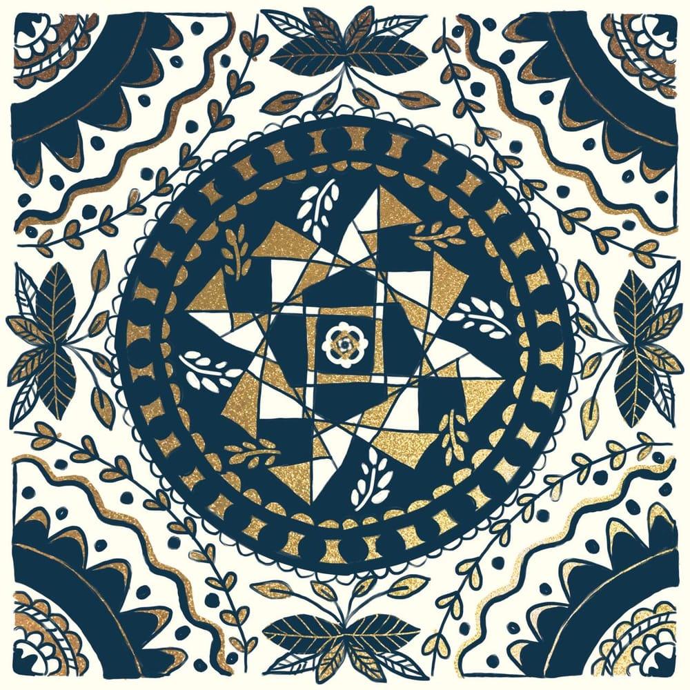 Mandala tiles - image 2 - student project