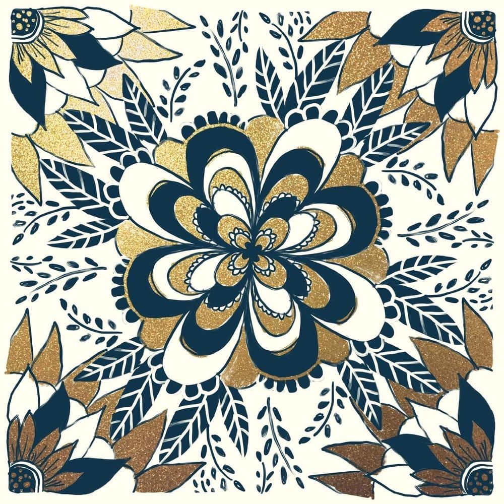 Mandala tiles - image 1 - student project