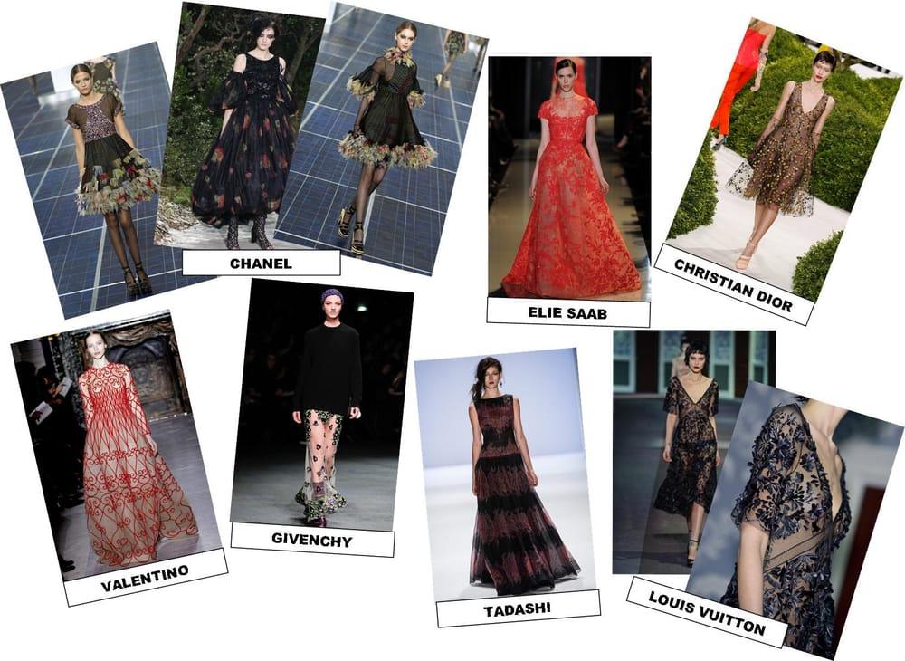 INSPIRATION: sheer black embellishment - image 2 - student project