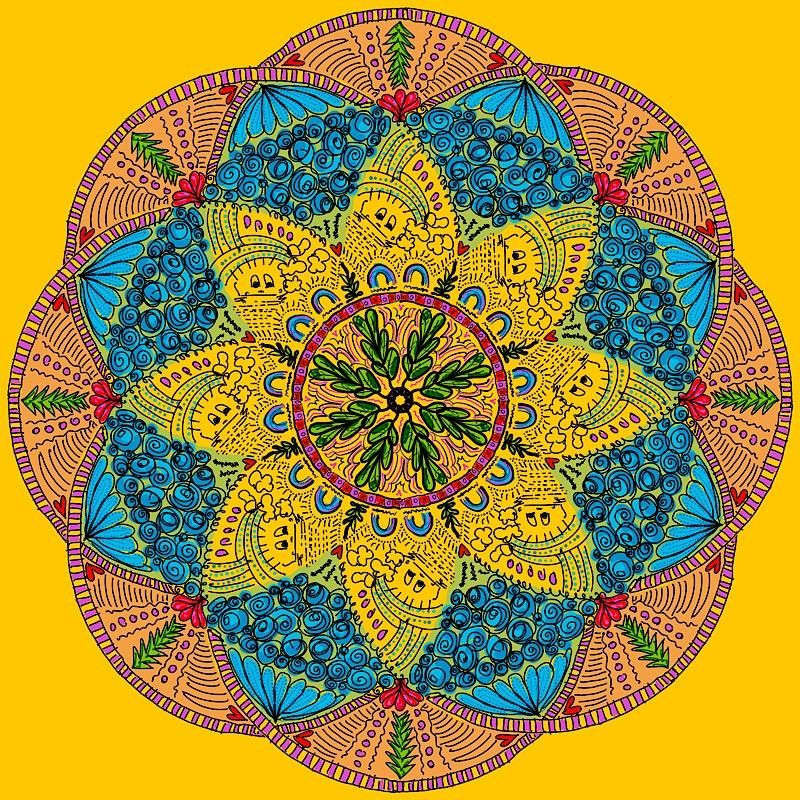 Fun with Mandalas! - image 2 - student project