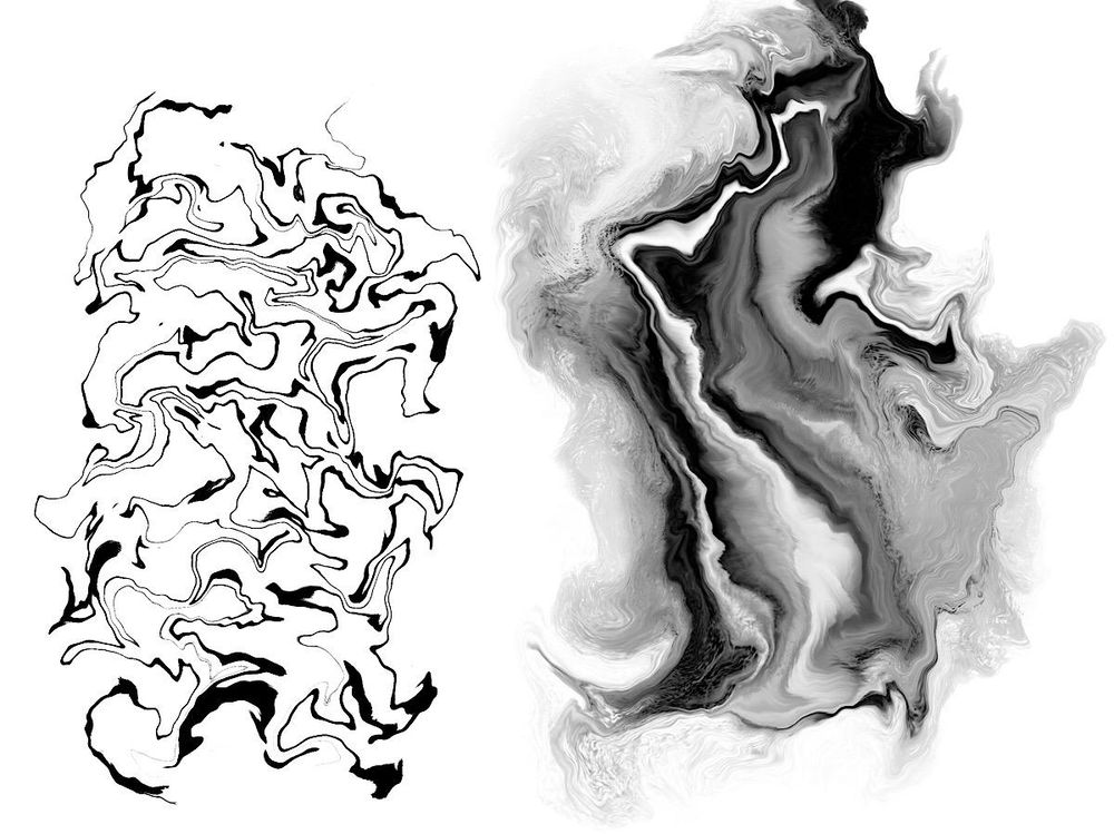 Marbling Exercises - image 1 - student project