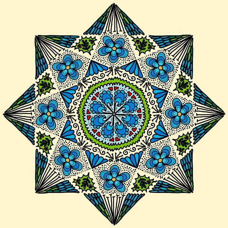 Fun with Mandalas! - image 1 - student project
