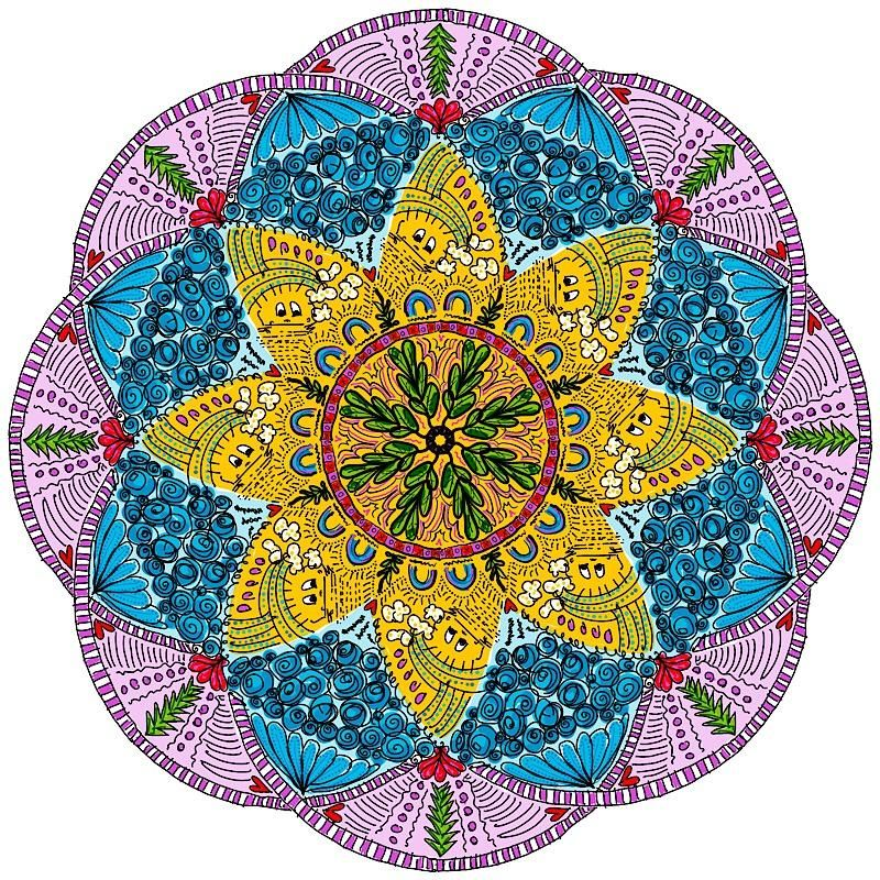 Fun with Mandalas! - image 3 - student project