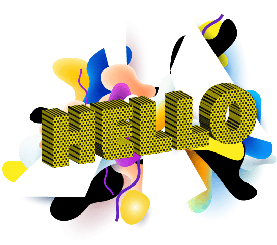 Halftone Pattern in Text Abstract - image 1 - student project