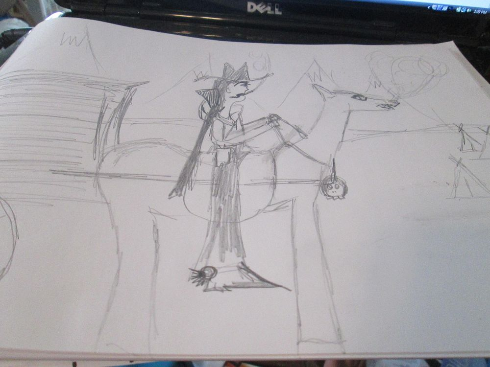 Indian Hunter - image 1 - student project