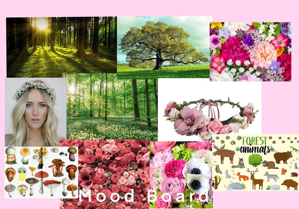 Making Flower Crowns in the Forest - image 1 - student project