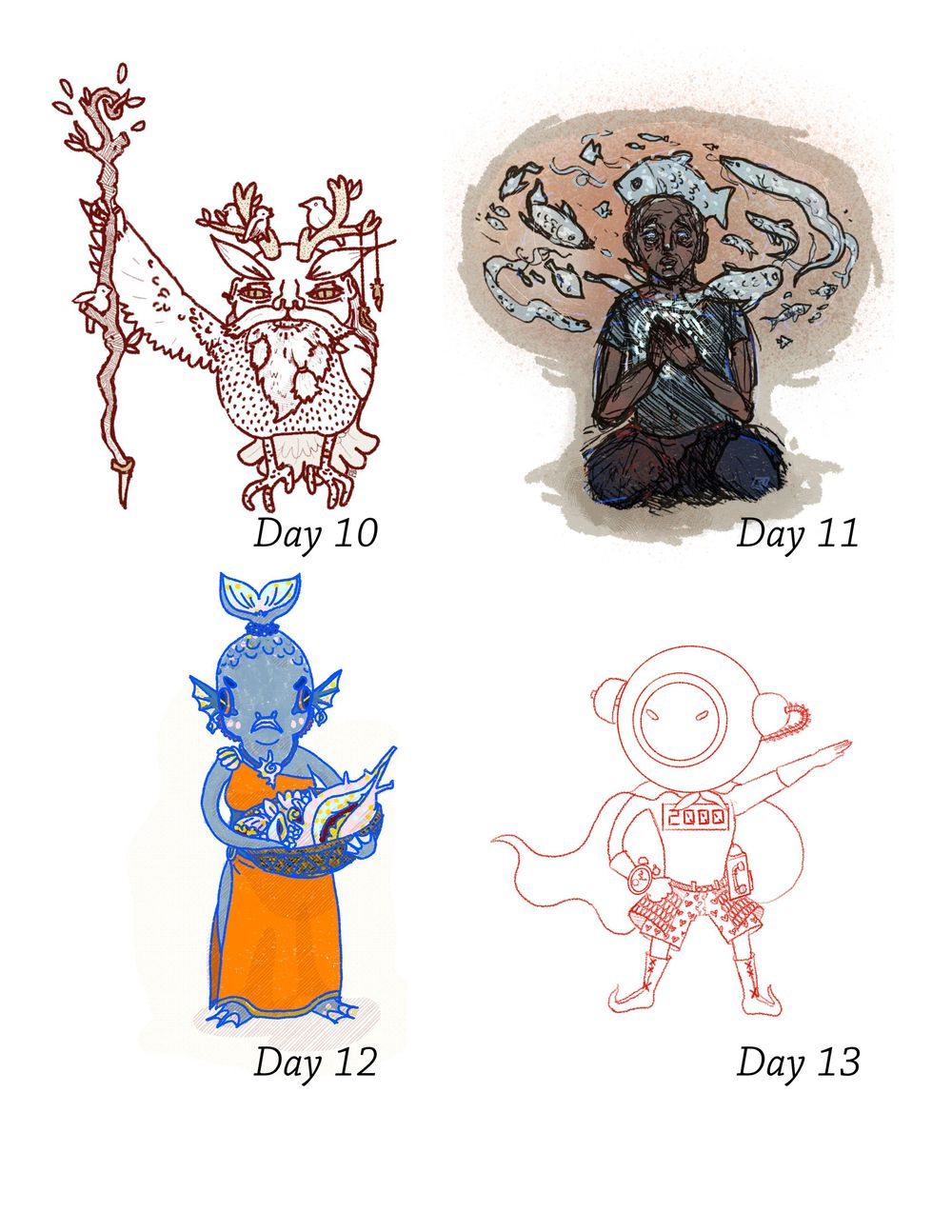 Character Quest - image 11 - student project