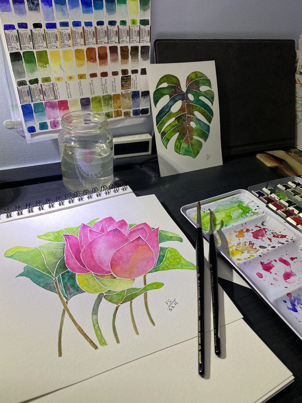 Watercolor Botanicals - image 5 - student project
