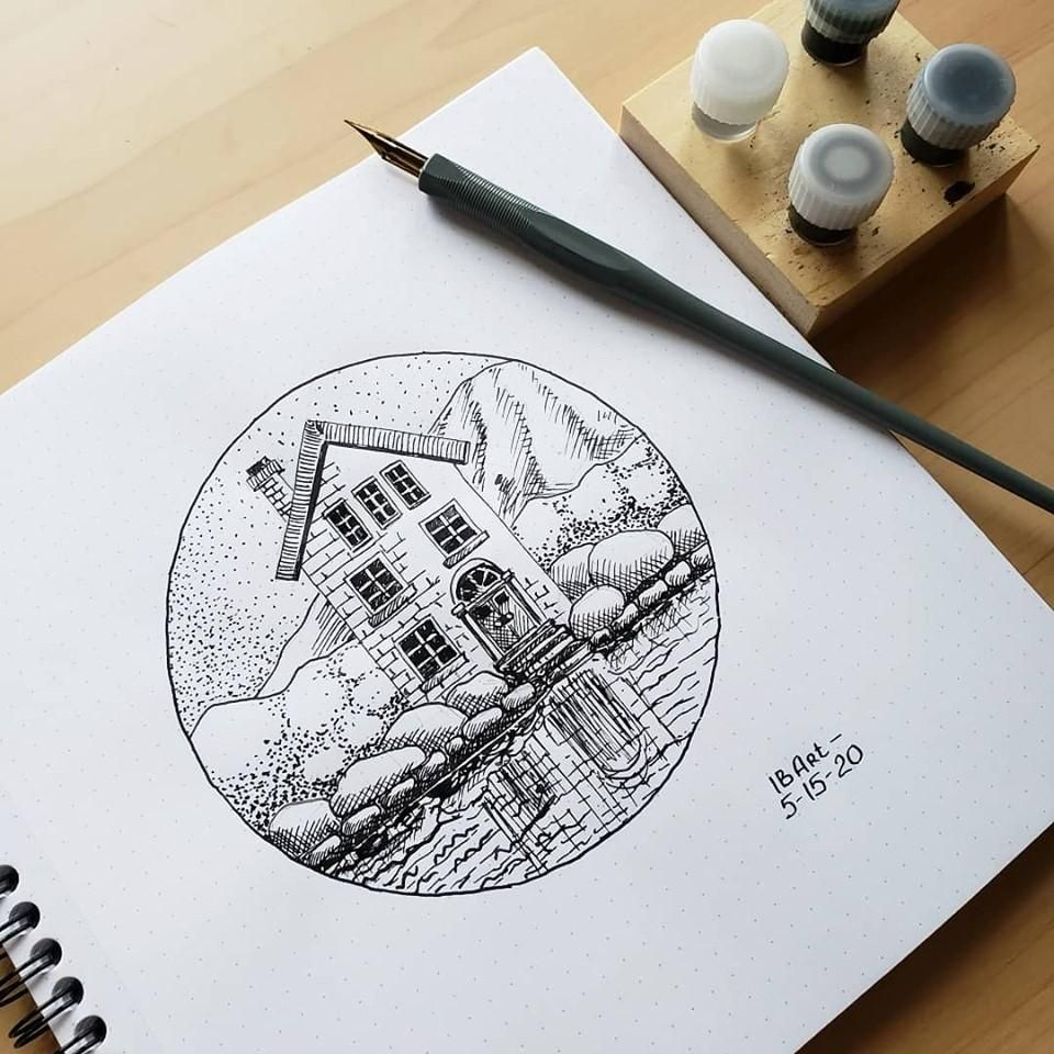 Sketching with Pen and Ink - image 1 - student project
