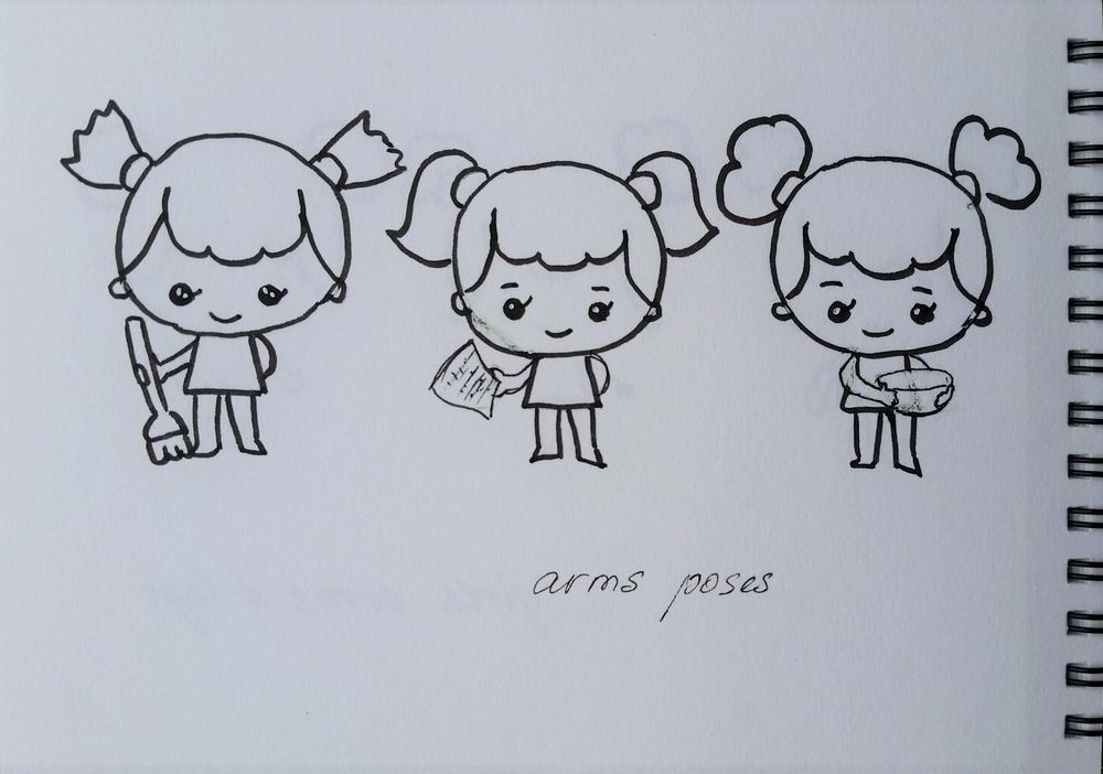 Chibi characters - image 1 - student project