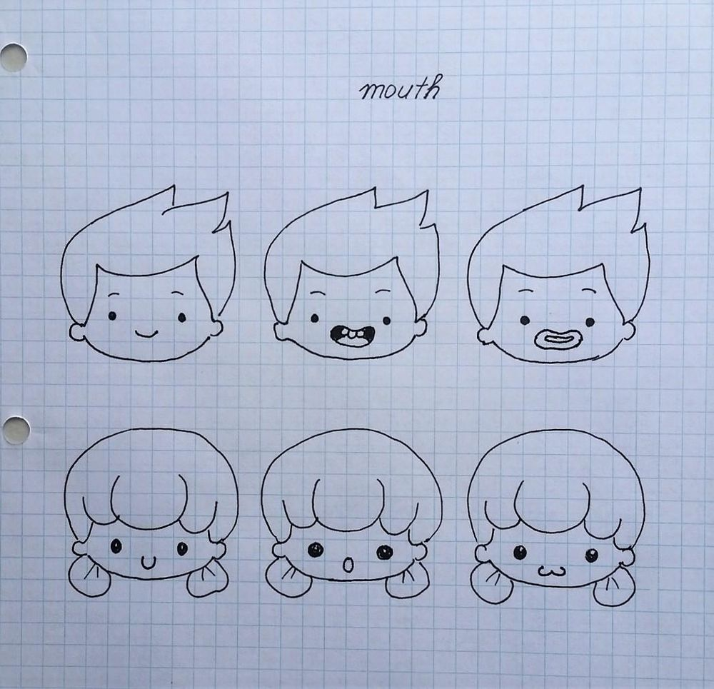 Chibi characters - image 7 - student project
