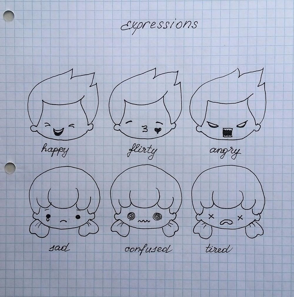 Chibi characters - image 6 - student project