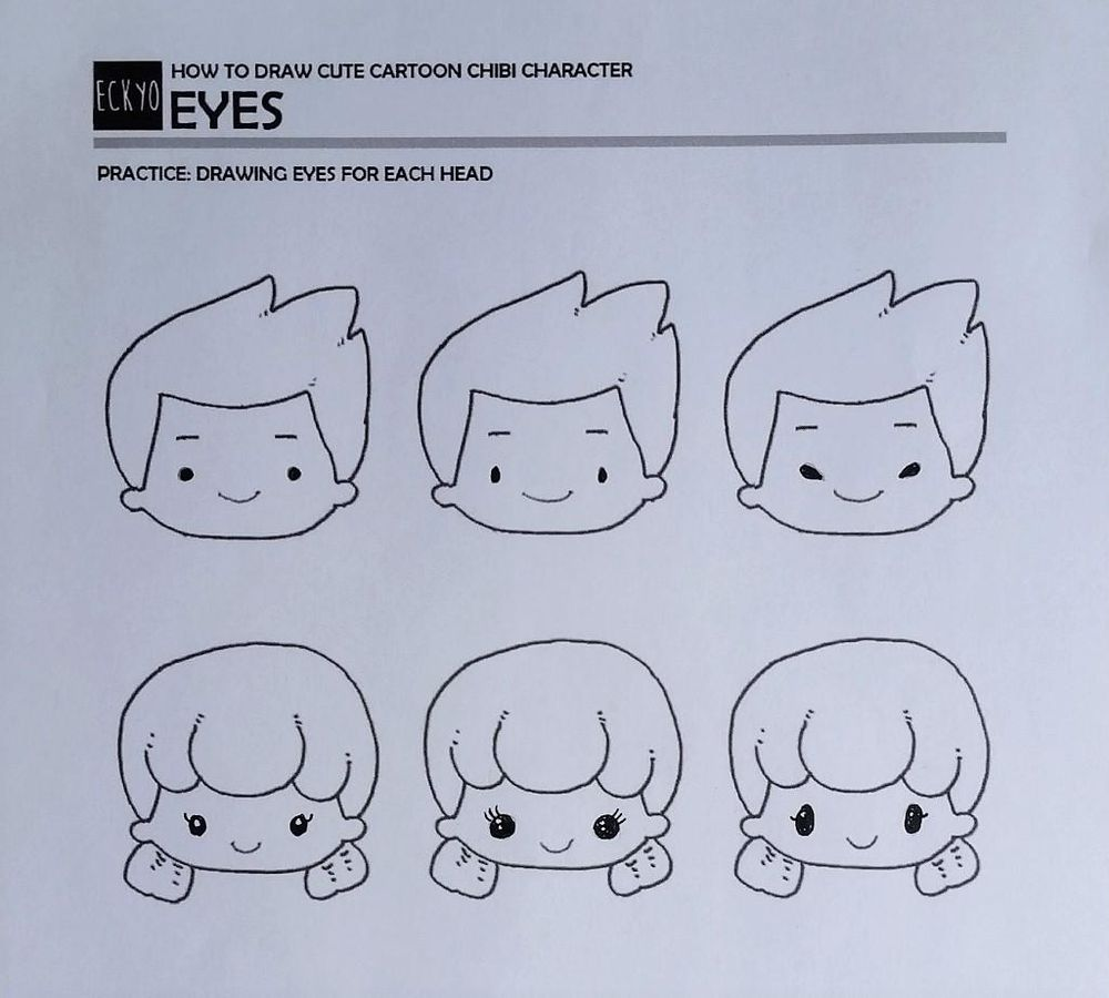 Chibi characters - image 8 - student project