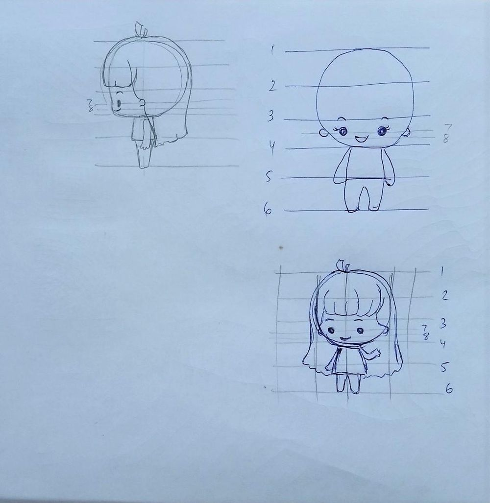 Chibi characters - image 13 - student project