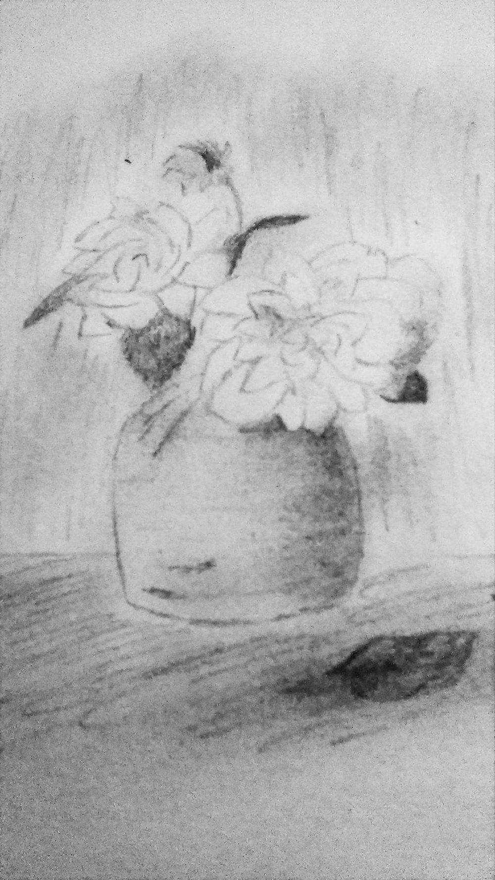 flowers in pot no1 - image 1 - student project