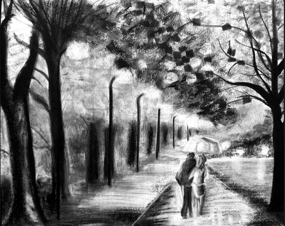 A serene and quiet walk - image 1 - student project