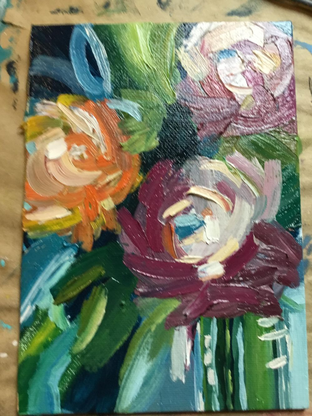 Abstract flowers - image 1 - student project
