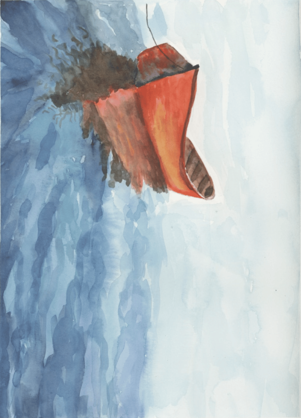 Seascapes - little red boat. - image 1 - student project
