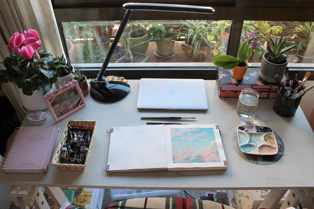 My workspace - image 2 - student project