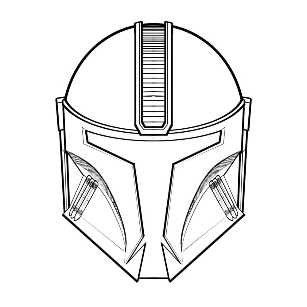 Mandalorian Helmet Concept - image 3 - student project