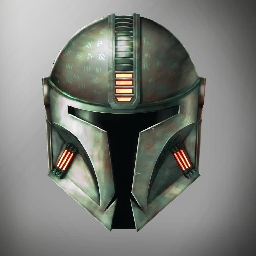 Mandalorian Helmet Concept - image 1 - student project