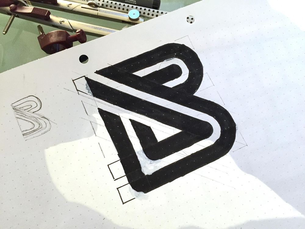 B Lettermark - image 2 - student project