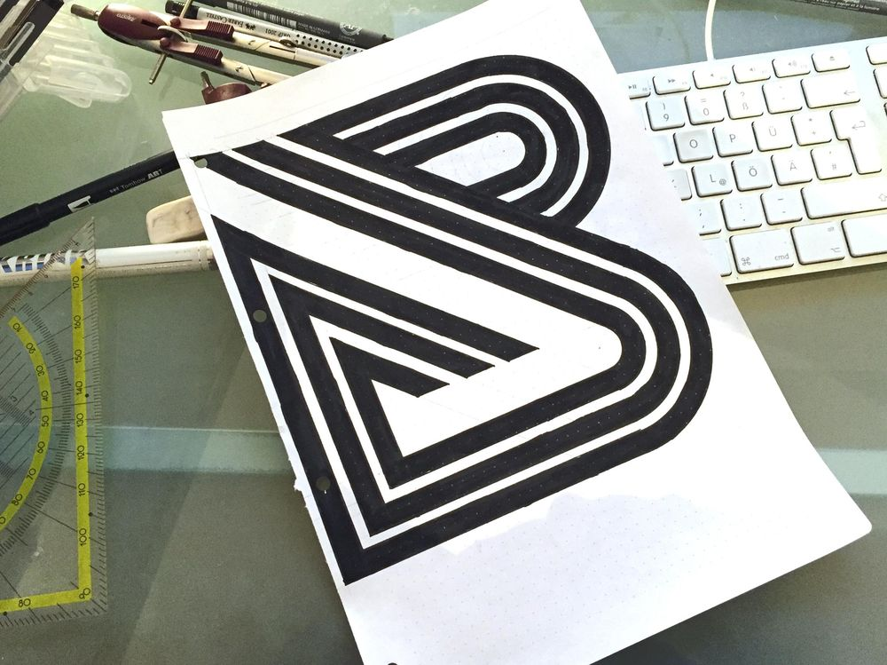 B Lettermark - image 1 - student project