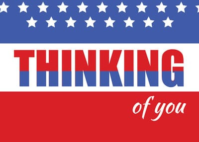 Thinking of you Patriotic - image 1 - student project